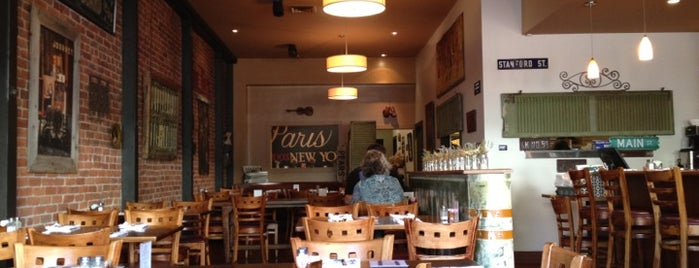 Gypsy Cafe is one of Napa/Sonoma.
