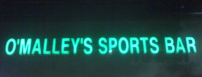 O'Malley's Sports Bar is one of Places to Drink.
