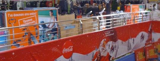 8574378b7c Carrefour is one of Καταστήματα Carrefour Μαρινόπουλος - Αττική.
