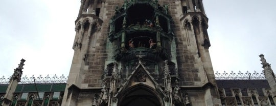 Rathaus-Glockenspiel is one of StorefrontSticker #4sqCities: Munich.