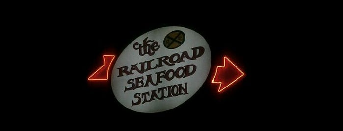 Railroad Seafood Station is one of Places I recommend.