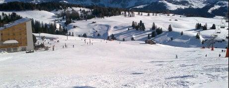 Alpe di Siusi / Seiser Alm is one of Dolomiti Super Ski - Italy.