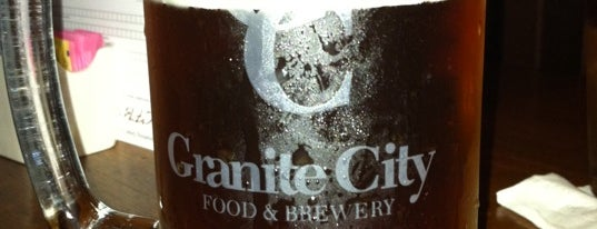 Granite City Food & Brewery is one of Tap Rooms / Breweries in the Greater MN Area.