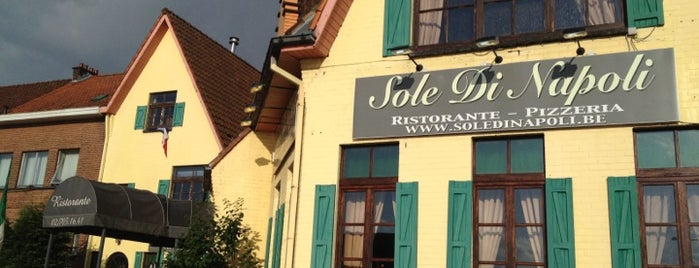 Sole di Napoli is one of Belgium - Resto.