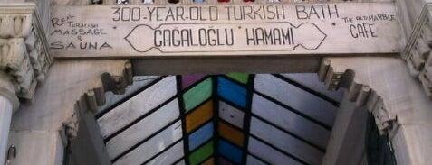 Cağaloğlu Hamamı is one of Istanbul City Guide.