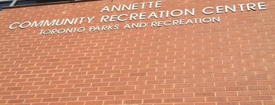 Annette Community Recreation Centre is one of Baks : понравившиеся места.