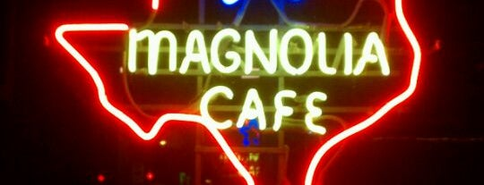 Magnolia Cafe is one of 26 Most Reviewed Austin Places on Fondu.