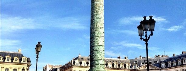 Place Vendôme is one of  Paris Sightseeing .