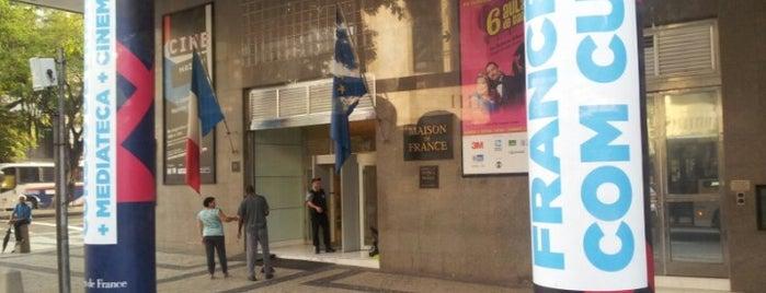 Teatro Maison de France is one of Lieux qui ont plu à Fabiano.