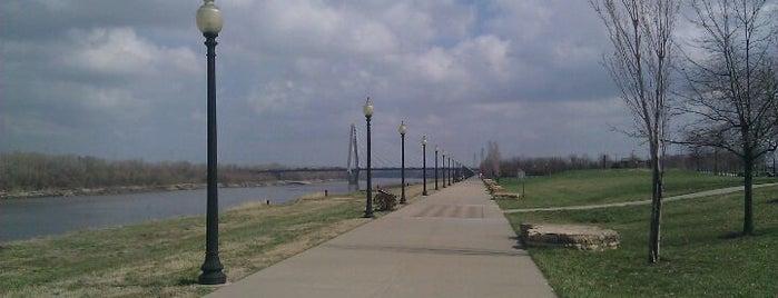 Richard L Berkley Riverfront Park is one of parks.