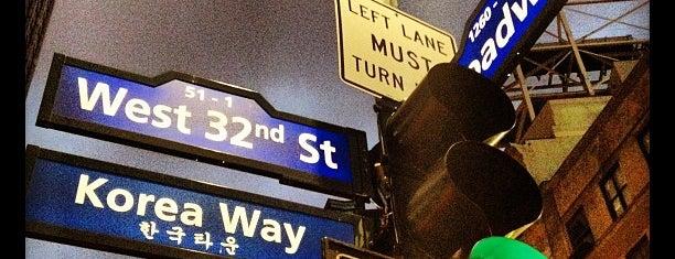 Koreatown is one of Manhattan Neighbourhoods.