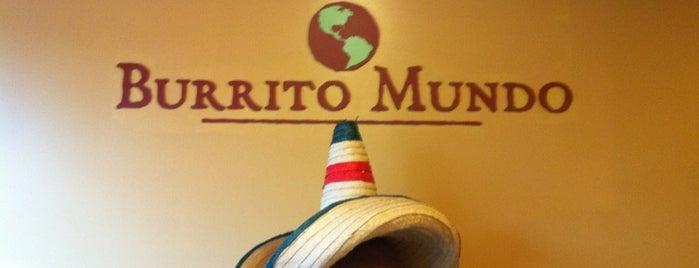 Burrito Mundo is one of Tempat yang Disukai Neil.