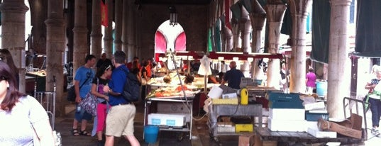 Pescheria del Mercato di Rialto is one of Best of Venice for foodies.