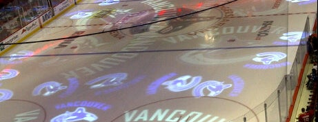 Rogers Arena is one of NHL (National Hockey League) Arenas.