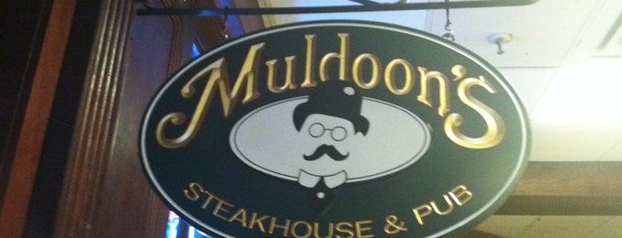 Muldoon's Steakhouse & Pub is one of Jackie 님이 좋아한 장소.