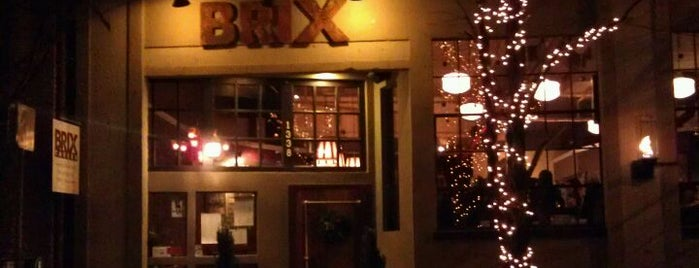 Brix Tavern is one of Locais curtidos por Benjamin.
