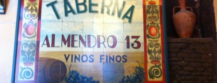 Taberna Almendro 13 is one of Para volver.