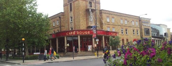 Café Rouge is one of Al fresco restaurants in London.