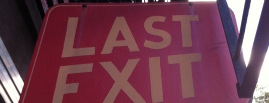 Last Exit is one of Bklyn.