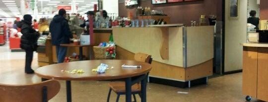 Starbucks is one of Orte, die Erika gefallen.