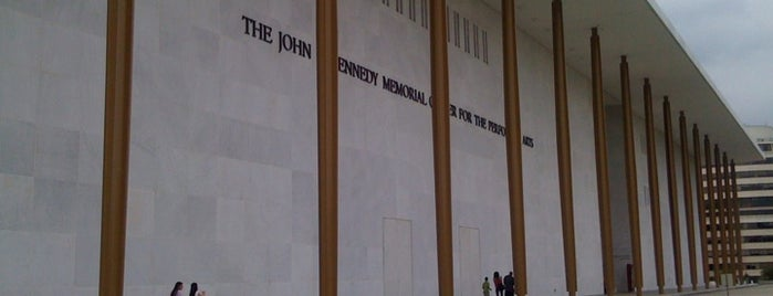 The John F. Kennedy Center for the Performing Arts is one of DC Area Live Music Venues.