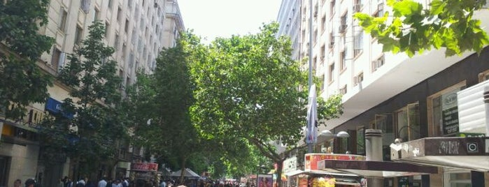 Paseo Ahumada is one of Must See in Santiago.