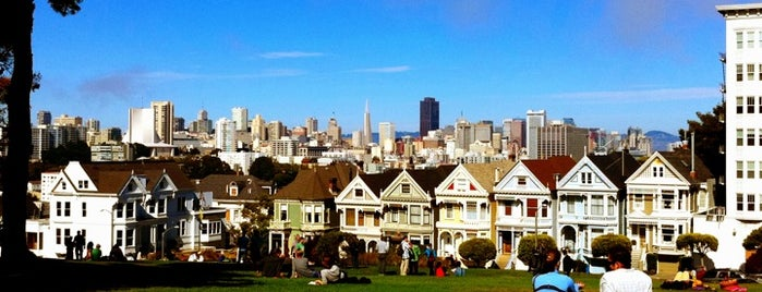 Alamo Square is one of Must-visit Parks in San Francisco.