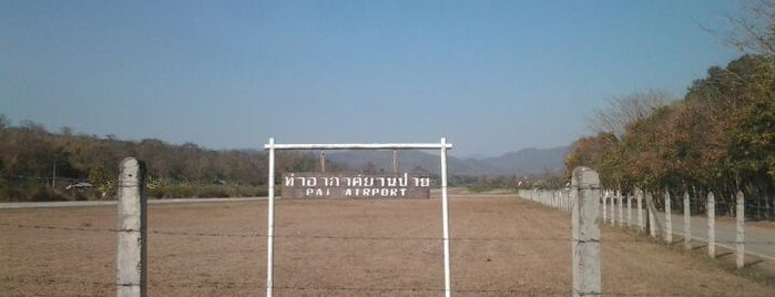 Pai Airport is one of Lieux qui ont plu à Nate.