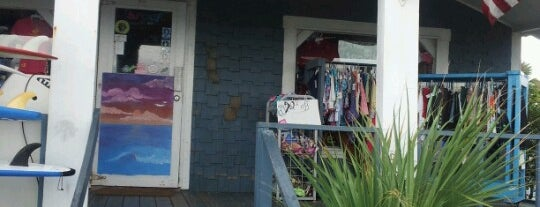 Z Wave Surf Shop is one of Trips south.