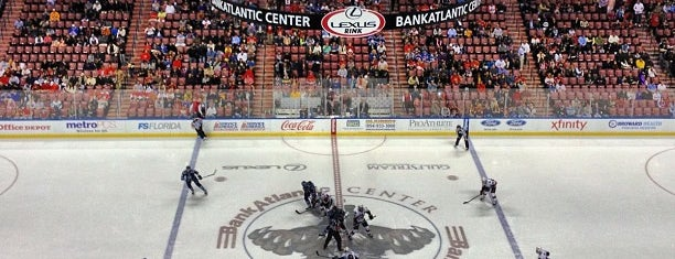 BB&T Center is one of Stadiums for NHL.