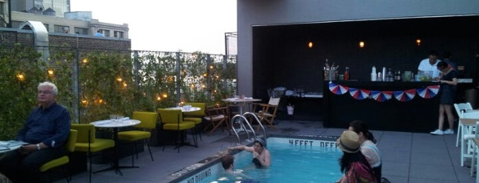 Hôtel Americano is one of Awesome Rooftops and crazy nightlife in NYC.