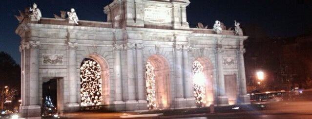 Puerta de Alcalá is one of Dieter's favourite spots in Madrid.