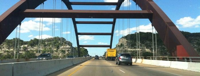 360 Bridge (Pennybacker Bridge) is one of Austin's Best Great Outdoors - 2013.