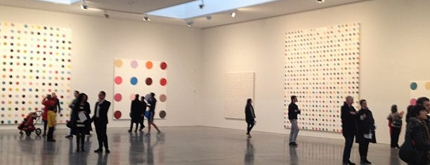 Gagosian Gallery 21 is one of NYC Date Spots.