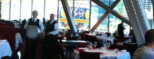 Eiffel Tower Restaurant is one of @MJVegas, Vegas Life Top 100.