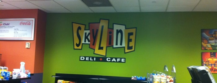 Skyline Deli and coffee bar is one of Houston.