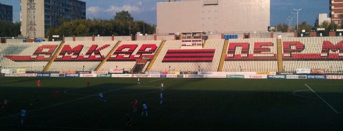 Стадион «Звезда» is one of Stadiums.