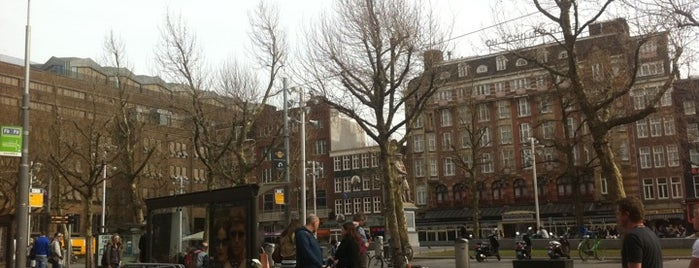 Tramhalte Rembrandtplein is one of Alle tramhaltes van Amsterdam.
