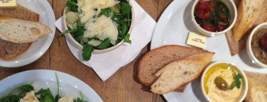 Le Pain Quotidien is one of London favourites.
