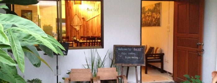 Basil Thai Cookery School is one of Chiang Mai.
