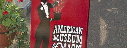 American Museum Of Magic is one of CBS Sunday Morning 2.