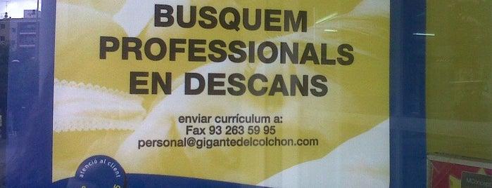El gigante del colchón is one of Ofertas de Trabajo Comercios Barcelona.