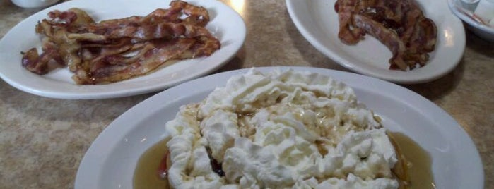Brownstone Diner & Pancake Factory is one of Best Places to Check out in United States Pt 5.