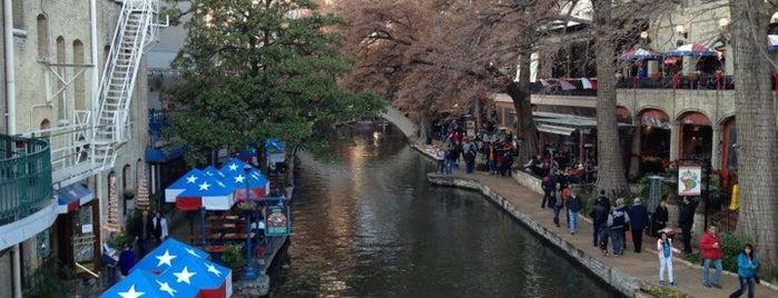 The San Antonio River Walk is one of San Antonio - Get Full. Have Fun. #visitUS #4sq.