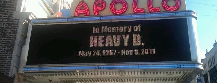 Apollo Theater is one of Lugares donde estuve en el exterior.