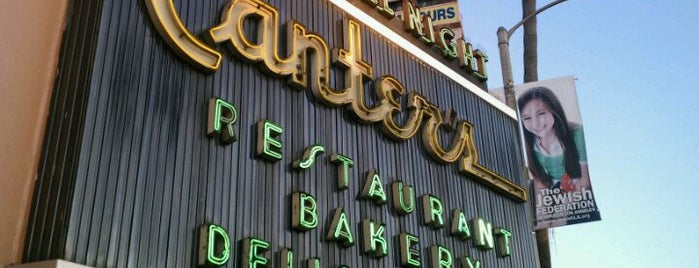 Canter's Delicatessen is one of Pacific Old-timey Bars, Cafes, & Restaurants.