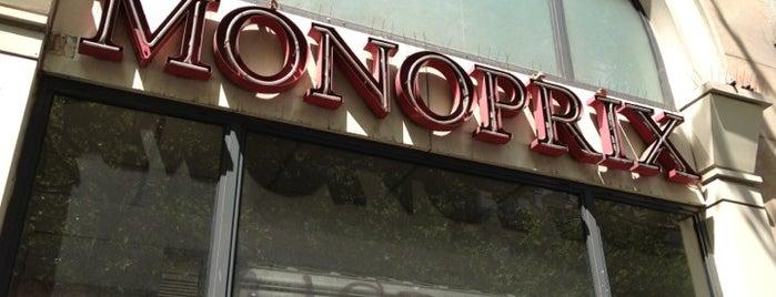 Monoprix is one of Orte, die Diana gefallen.