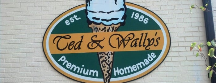 Ted & Wally's is one of Omaha.