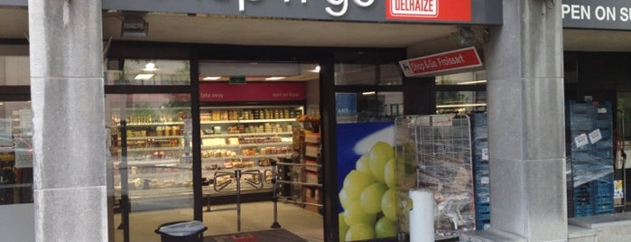Delhaize Shop & Go is one of Nice spots around Schuman.