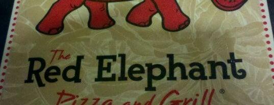 The Red Elephant is one of Locais salvos de Rich.